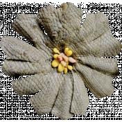 Chills & Thrills Mini 2- Gray Flower