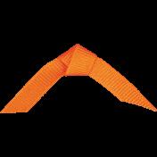 Chills & Thrills Mini 2- Orange Folded Ribbon