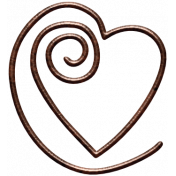 Unwind Mini Kit- Heart Clip