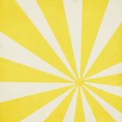 Unwind Mini Kit- Yellow Sunburst Paper