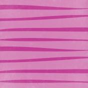 Unwind Mini Kit- Pink Striped Paper