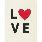 Toolbox Valentine's Kit 2- 3x4 Love Journal Card