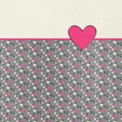 Toolbox Valentine's Kit 2- 4x4 Floral Heart Journal Card