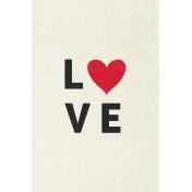 Toolbox Valentine's Kit 2- 4x6 Love Journal Card