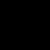 Letter Border Stamp Template 011