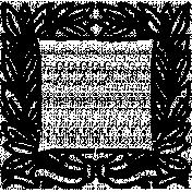 Letter Border Stamp Template 016