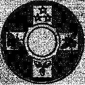 Letter Border Stamp Template 020