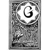 Letter Stamp Template 008