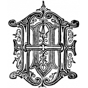 Letter Stamp Template 009