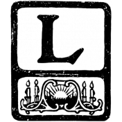 Letter Stamp Template 050