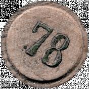 Cozy Day- Bingo Chip 78