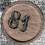 Cozy Day- Bingo Chip 81