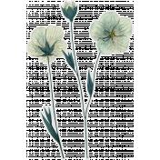 Cozy Day- Flower Sticker 1