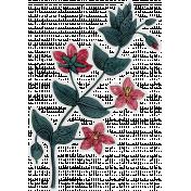 Cozy Day- Flower Sticker 3
