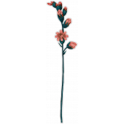 Cozy Day- Flower Sticker 4