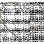 Cozy Day- Heart Stitching