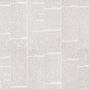 Cozy Day- Newsprint Paper