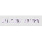 Cozy Days- Delicious Autumn