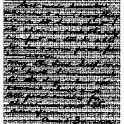 Handwriting Stamp Template 014