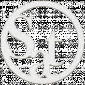 Toolbox Calendar- White Circle Date Saturday