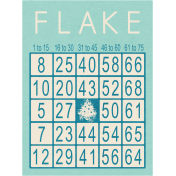 Memories & Traditions- Flake Bingo Card