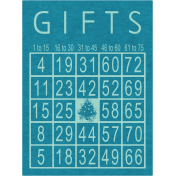Memories & Traditions- Gifts Bingo Card
