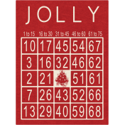Memories & Traditions- Jolly Bingo Card