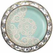Memories & Traditions- Lace Doily Brad