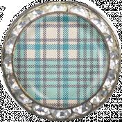 Memories & Traditions- Plaid Pattern Brad 1