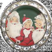 Memories & Traditions- Santa Family Brad