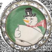 Memories & Traditions- Snowman Brad