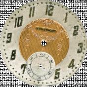 Grandpa's Desk- Clock