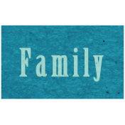 Memories & Traditions- Family Word Art
