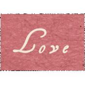 Memories & Traditions- Love Word Art