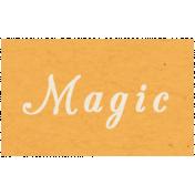 Memories & Traditions- Magic Word Art