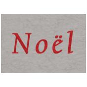 Memories & Traditions- Noel Word Art