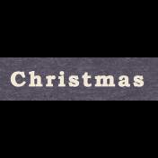 Memories & Traditions- Christmas Word Art 2