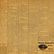 Grandpa's Desk- Newsprint Paper