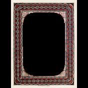 Grandpa's Desk- Brown Paper Frame