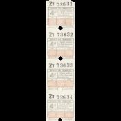 Grandpa's Desk - Paper Ticket