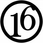 Circle Number Template 026