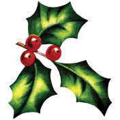 Memories & Traditions- Holly Sprig 01