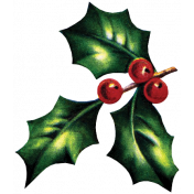 Memories & Traditions- Holly Sprig 06