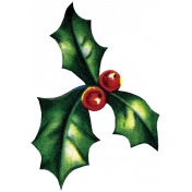 Memories & Traditions- Holly Sprig 09