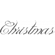 Memories and Traditions- Wire Christmas Wordart