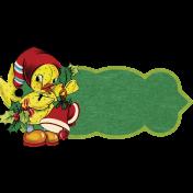 Memories and Tradition- Ephemera Duck Tag