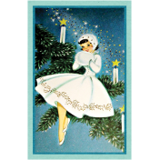 Memories and Traditions- Blue Lady Tag