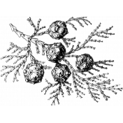 Nature Stamp Template 023