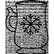 Mug Doodle Template 002