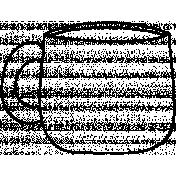 Mug Doodle Template 003